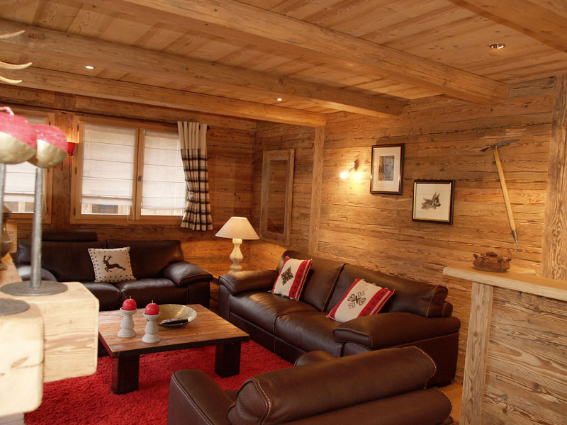 Decoration chalet bois l 39 habis for Decoration de chalet