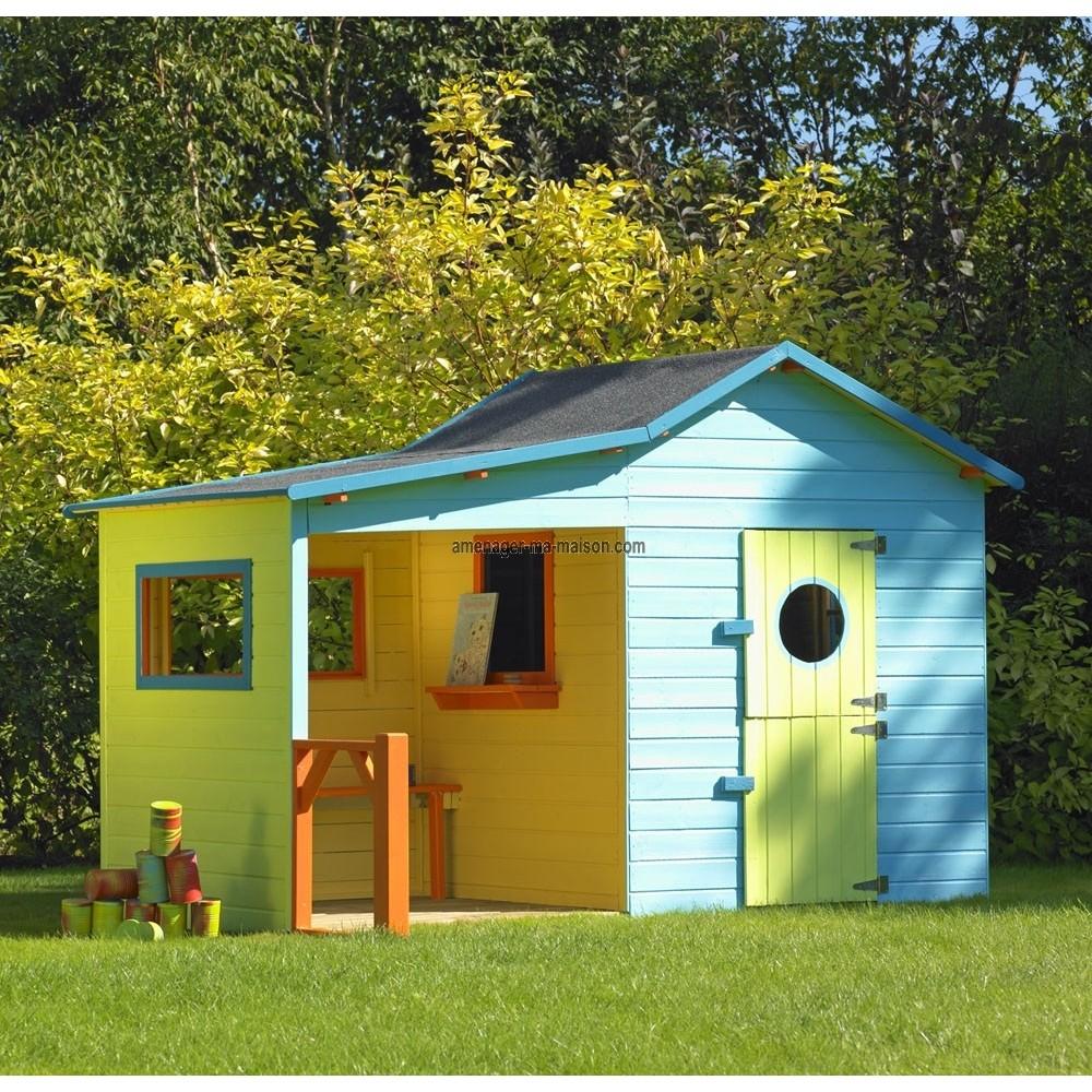 Maison en bois jardin l 39 habis for Maison jardin bois