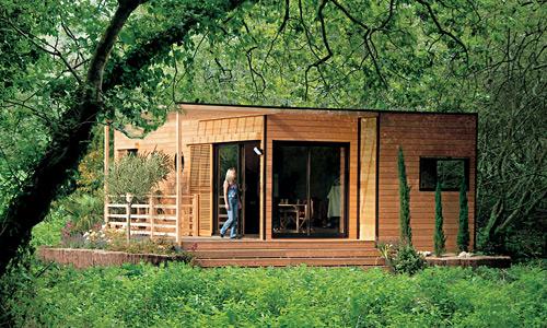 Maison en bois en kit pas cher l 39 habis for Habitation pas cher