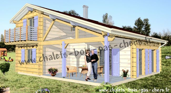 Chalet bois habitable pas cher l 39 habis - Chalet en bois habitable pas cher ...
