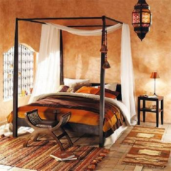 Chambre style africain l 39 habis for Deco chambre style africain