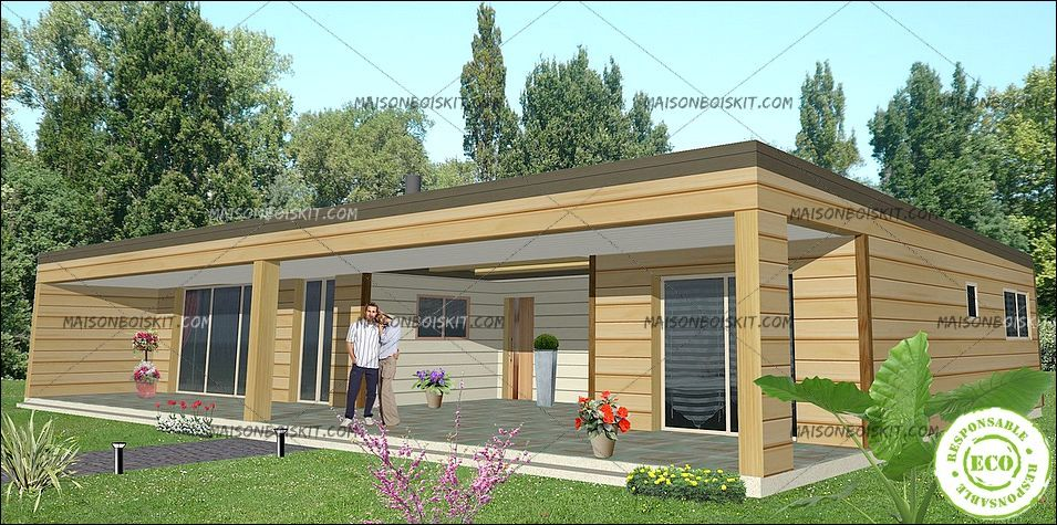 maison en kit bois tarif l 39 habis. Black Bedroom Furniture Sets. Home Design Ideas
