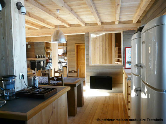 Awesome Deco Interieur Chalet Bois Contemporary - Design Trends 2017 ...