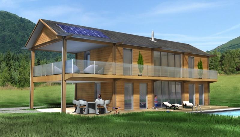 chalet en bois habitable pas cher l 39 habis. Black Bedroom Furniture Sets. Home Design Ideas