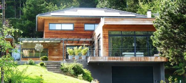 une maison bois ecologique l 39 habis. Black Bedroom Furniture Sets. Home Design Ideas