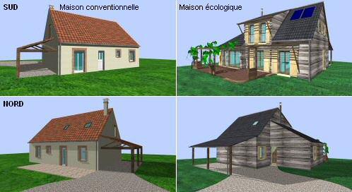 Une cout maison ecologique l 39 habis for Cout construction villa