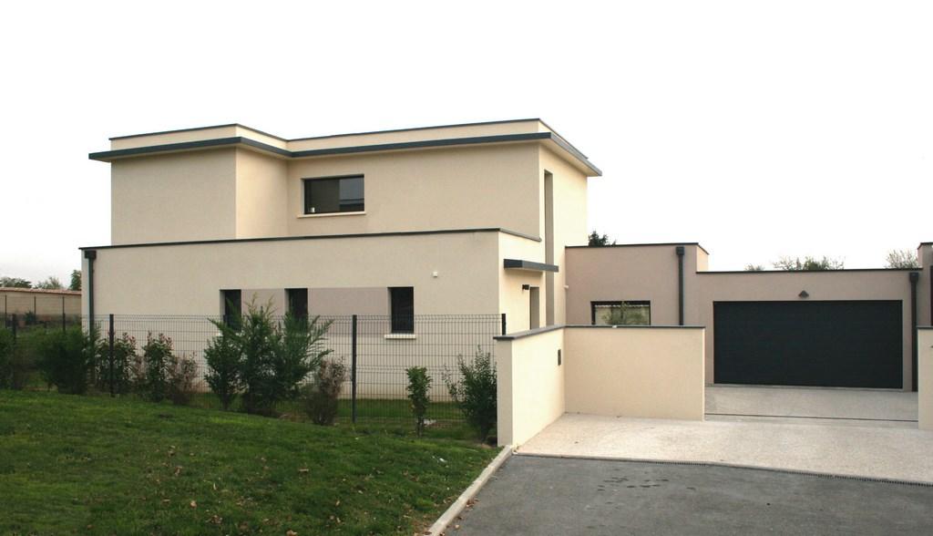 Constructeur maison contemporaine l 39 habis for Prix construction maison contemporaine