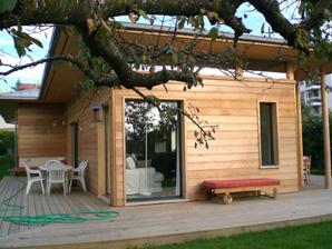 Petite maison ossature bois l 39 habis for Petite maison ossature bois