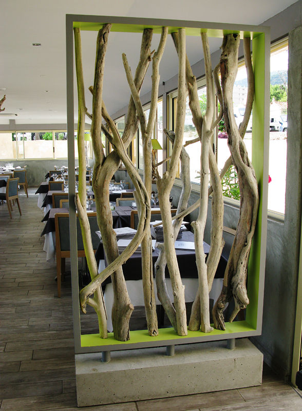 Best table de jardin en bois flotte pictures awesome for Salon bois flotte
