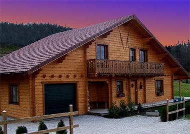 Maison bois alsace l 39 habis for Constructeur maison bois alsace