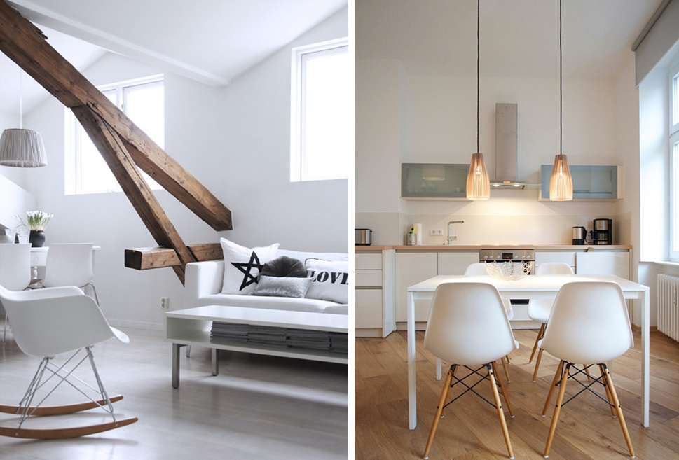 Decoration interieur bois naturel l 39 habis - Idee deco salon scandinave ...
