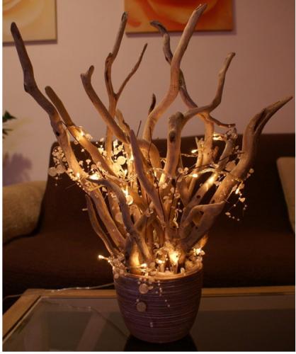 Deco noel bois flotte l 39 habis for Idee deco avec du bois flotte