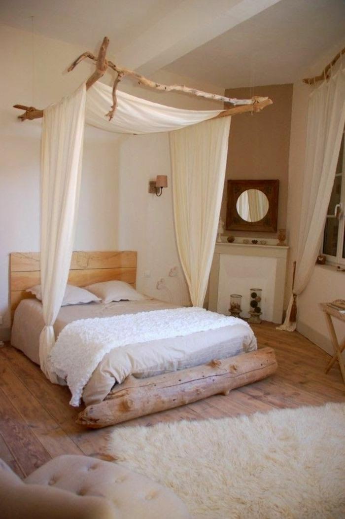 Deco chambre bois flott l 39 habis for Objet deco maison du monde