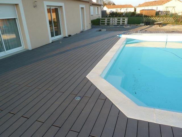 Lame composite terrasse piscine l 39 habis - Lame terrasse piscine ...