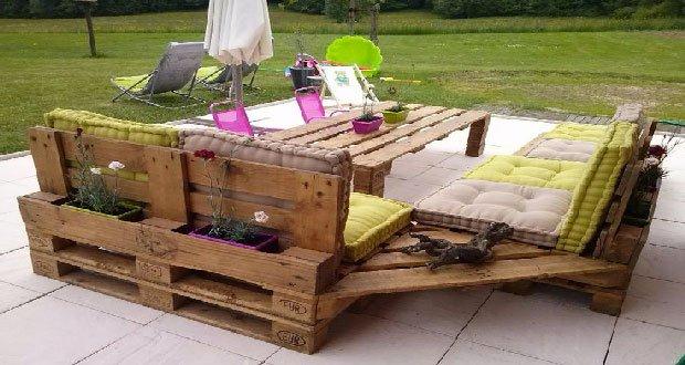 Amenagement Jardin Palette. Amazing Mobilier De Jardin Palette G ...