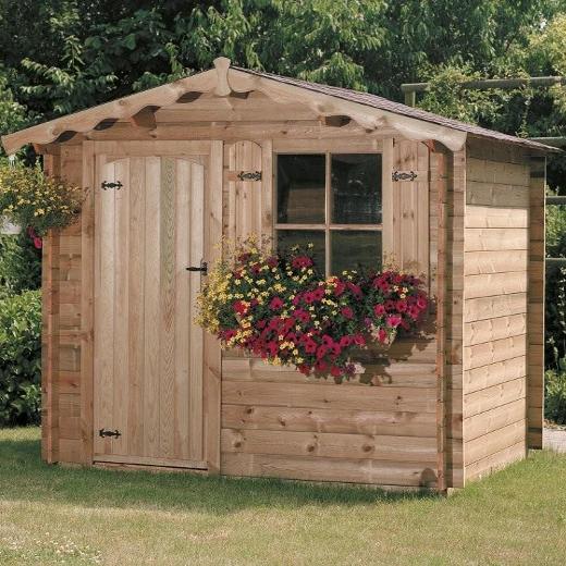 cabanon 5m2 cabane de jardin bois les cabanes de jardin abri de jardin et pour abri with. Black Bedroom Furniture Sets. Home Design Ideas