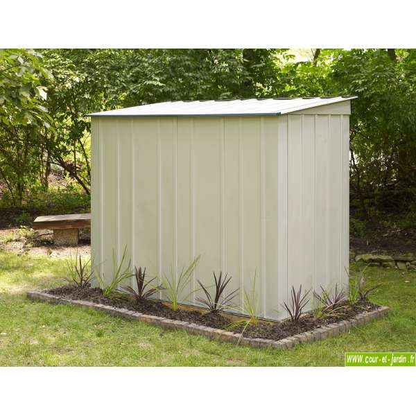 Abris de jardin monopente pas cher l 39 habis - Abris de jardin en metal pas cher ...