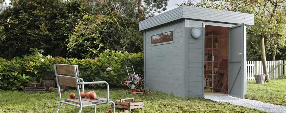 cabane de jardin 6m2 l 39 habis. Black Bedroom Furniture Sets. Home Design Ideas