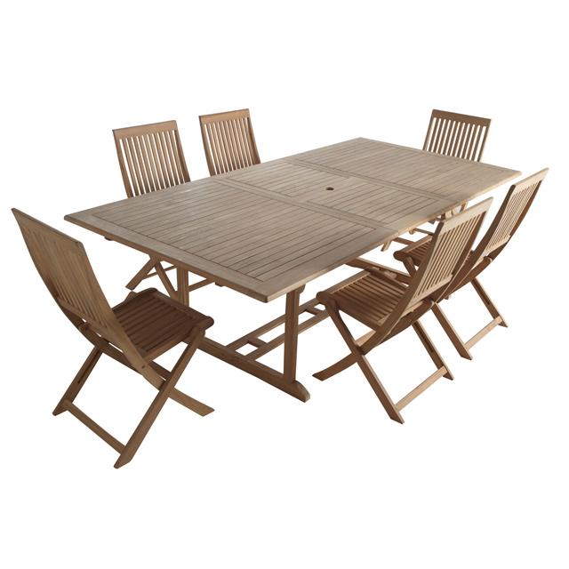 Table jardin pas cher l 39 habis for Table en bois de jardin pas cher
