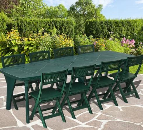Table jardin pvc l 39 habis for Petite table de jardin pvc