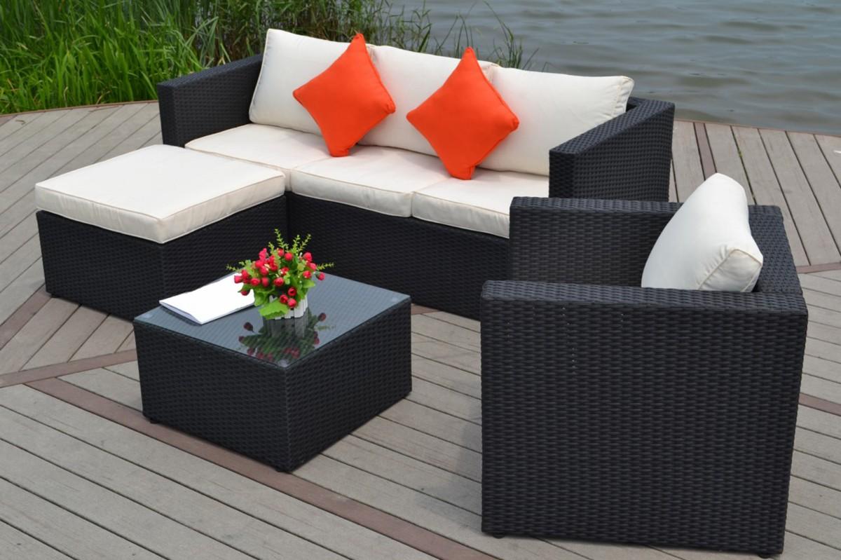 Canape de jardin en resine - l\'Habis