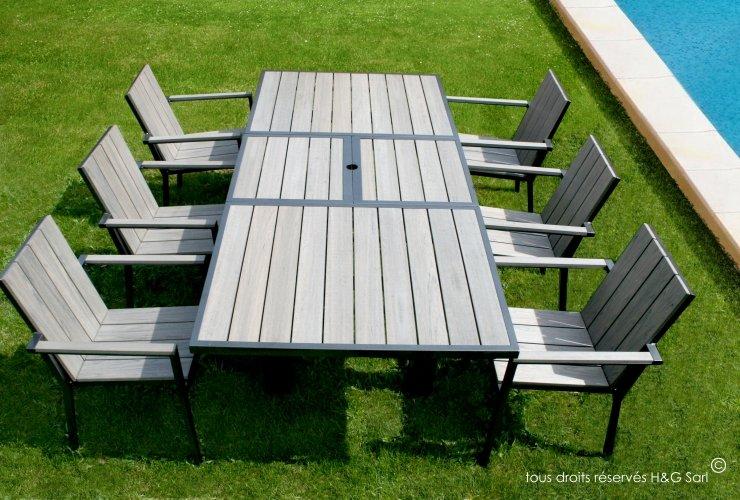 mobilier jardin soldes l 39 habis. Black Bedroom Furniture Sets. Home Design Ideas