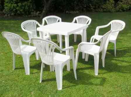 table jardin pas cher plastique l 39 habis. Black Bedroom Furniture Sets. Home Design Ideas
