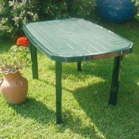 Awesome salon de jardin en plastique vert pictures - Table jardin plastique vert ...