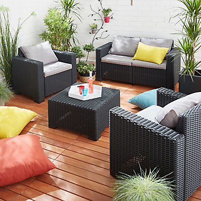salon pour jardin l 39 habis. Black Bedroom Furniture Sets. Home Design Ideas