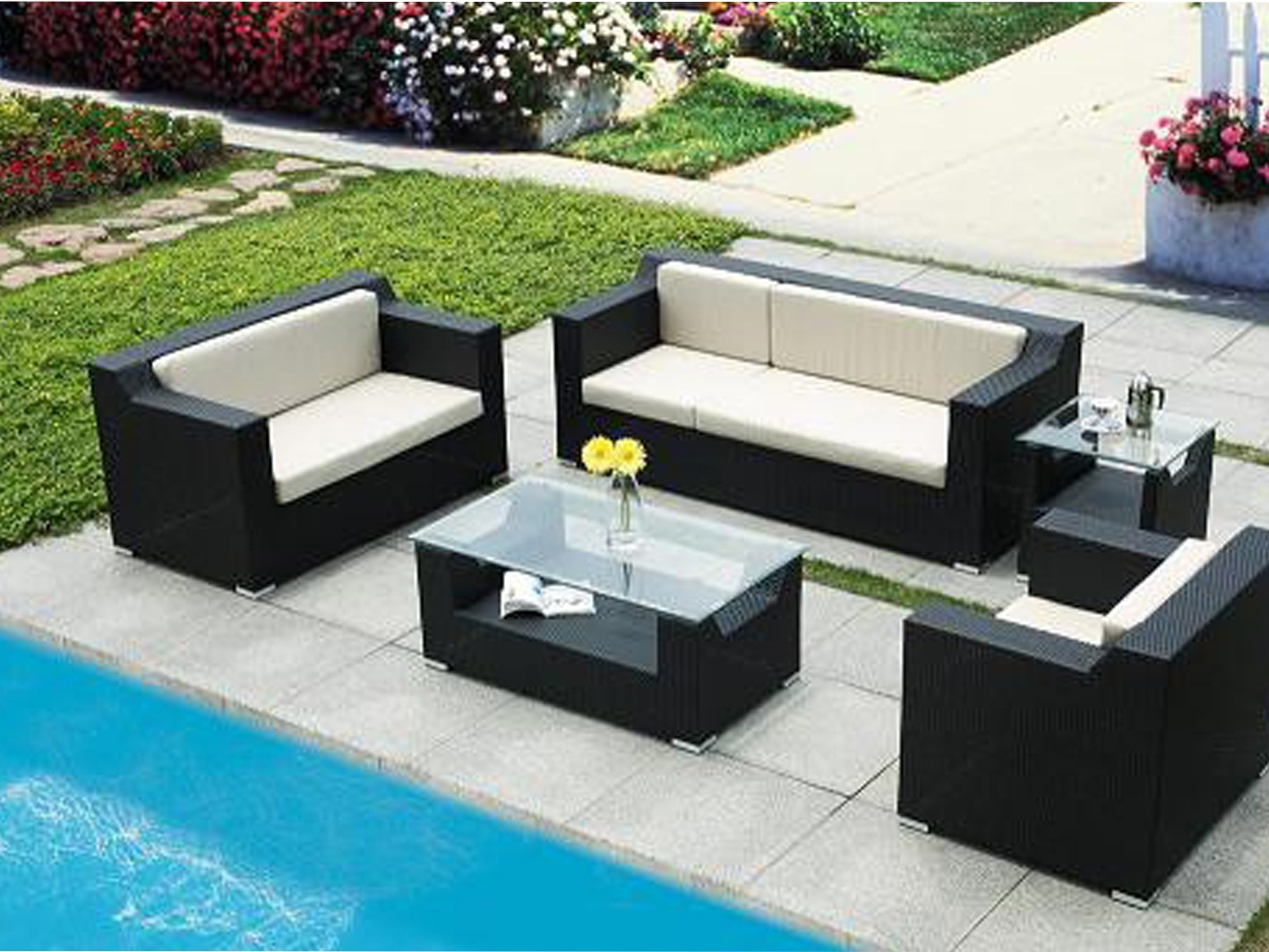 meuble de jardin l 39 habis. Black Bedroom Furniture Sets. Home Design Ideas