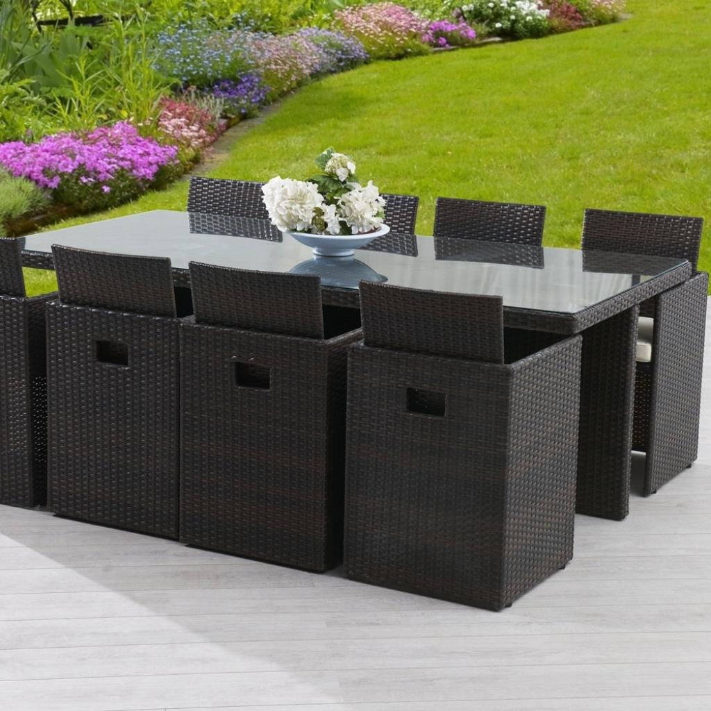 Table et chaise de jardin en resine l 39 habis - Table plus chaise de jardin pas cher ...
