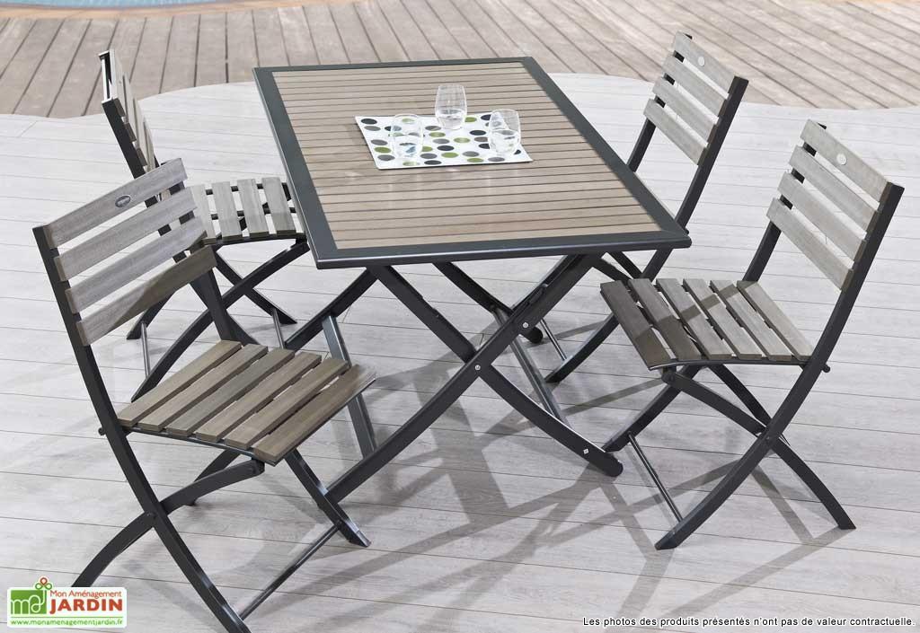 Table De Jardin Avec Rallonge En Aluminium. Awesome Fabulous Table ...