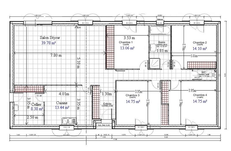 Plan Maison Gratuit Plain Pied  LHabis