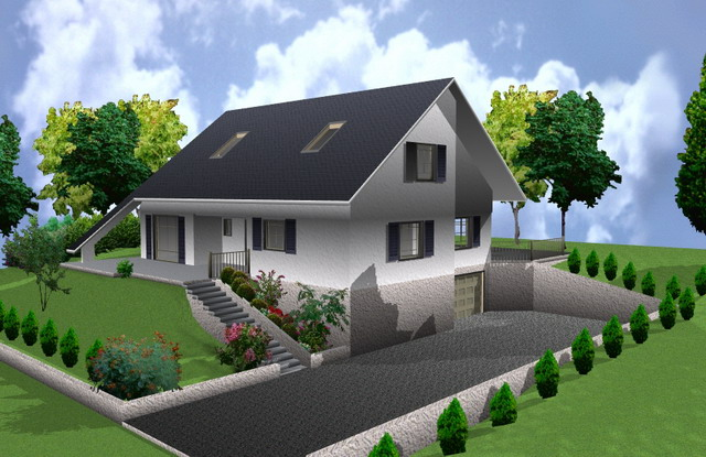 logiciel d architecture en ligne l 39 habis. Black Bedroom Furniture Sets. Home Design Ideas