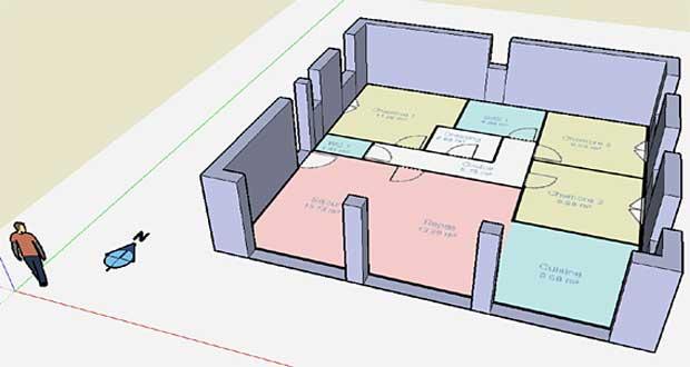 faire des plans en 3d gratuit l 39 habis. Black Bedroom Furniture Sets. Home Design Ideas