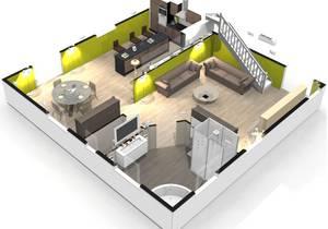 Cr er une maison en 3d gratuit l 39 habis - Faire son plan de maison en 3d ...