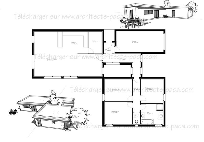 Plan maison gratuit - l'Habis