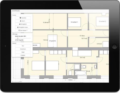 dessiner un plan en ligne l 39 habis. Black Bedroom Furniture Sets. Home Design Ideas