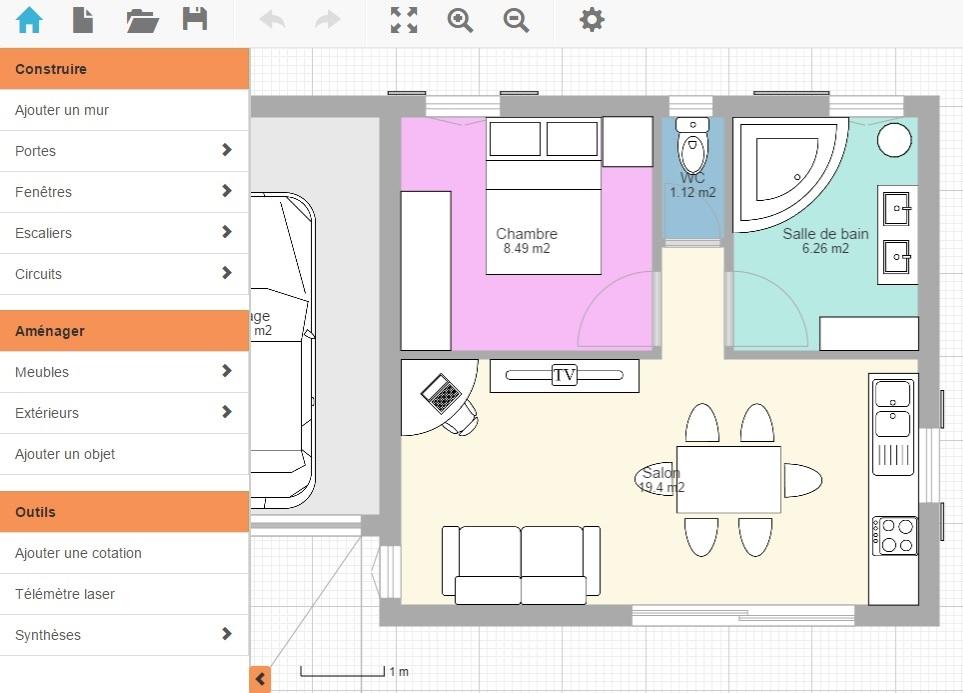 Plan de maison logiciel gratuit l 39 habis - Logiciel plan maison gratuit google ...
