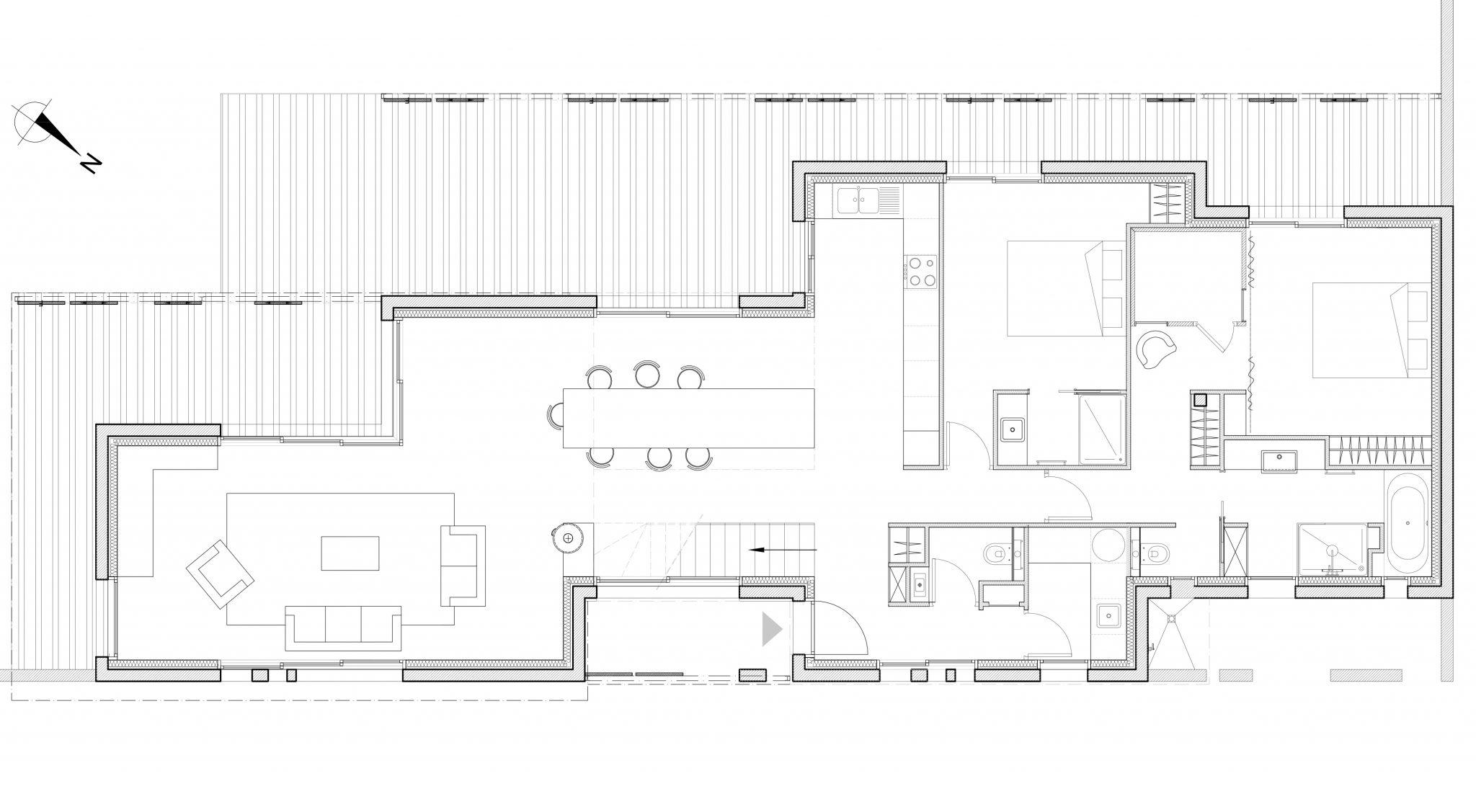plan de construction d une maison l 39 habis. Black Bedroom Furniture Sets. Home Design Ideas