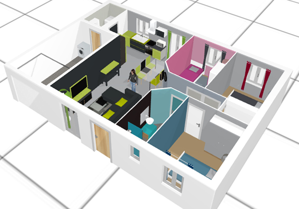 Cr er plan maison 3d gratuit en ligne l 39 habis for Plan 3d en ligne gratuit