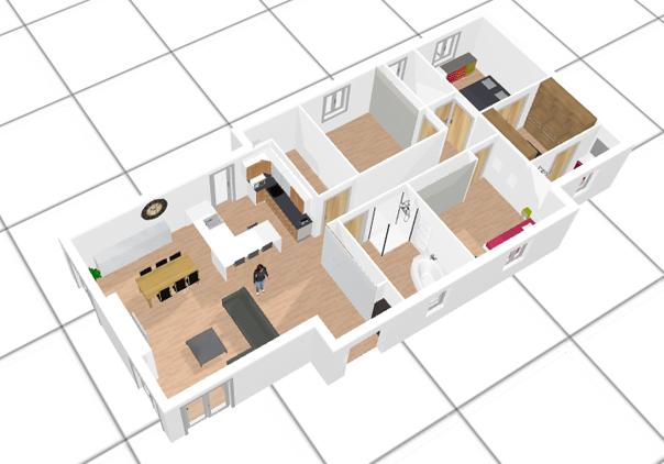 logiciel gratuit pour faire des plans de maison en 3d l. Black Bedroom Furniture Sets. Home Design Ideas