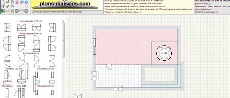 faire plan de sa maison l 39 habis. Black Bedroom Furniture Sets. Home Design Ideas