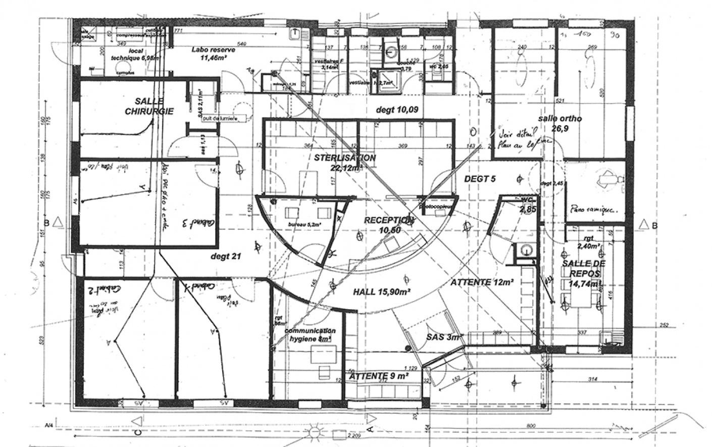 Plan architecte l 39 habis - Plan maison d architecte ...