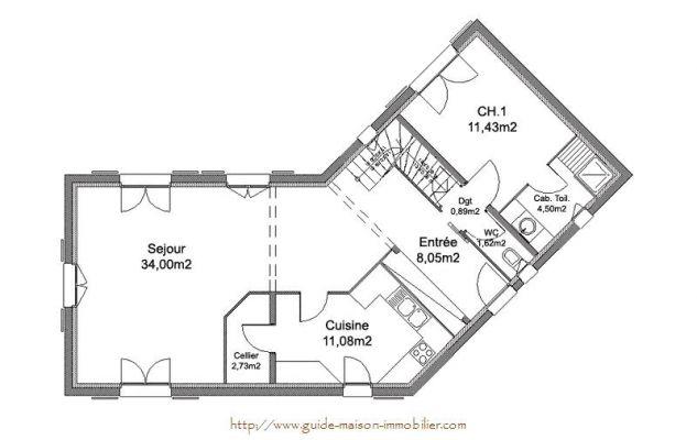 Idée de plan de maison - l\'Habis