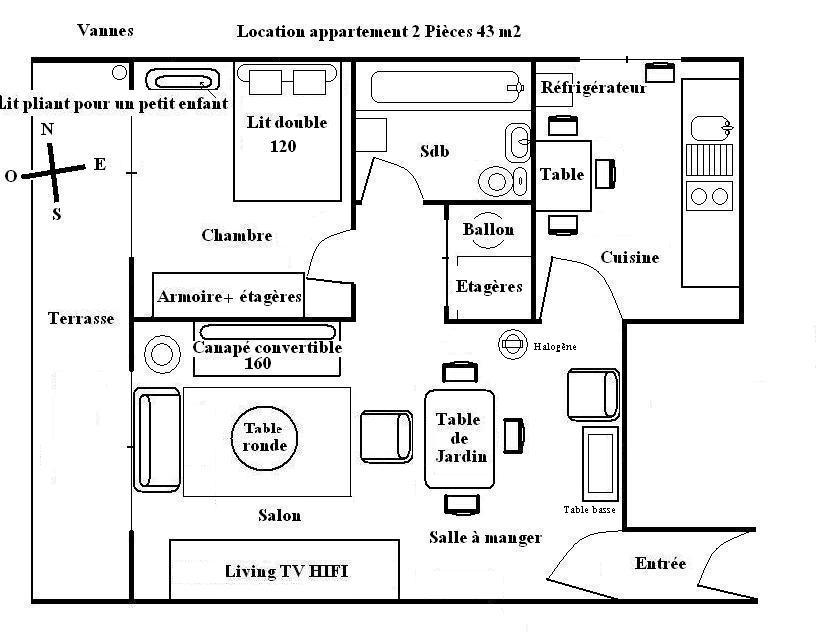 plan appartement gratuit l 39 habis. Black Bedroom Furniture Sets. Home Design Ideas