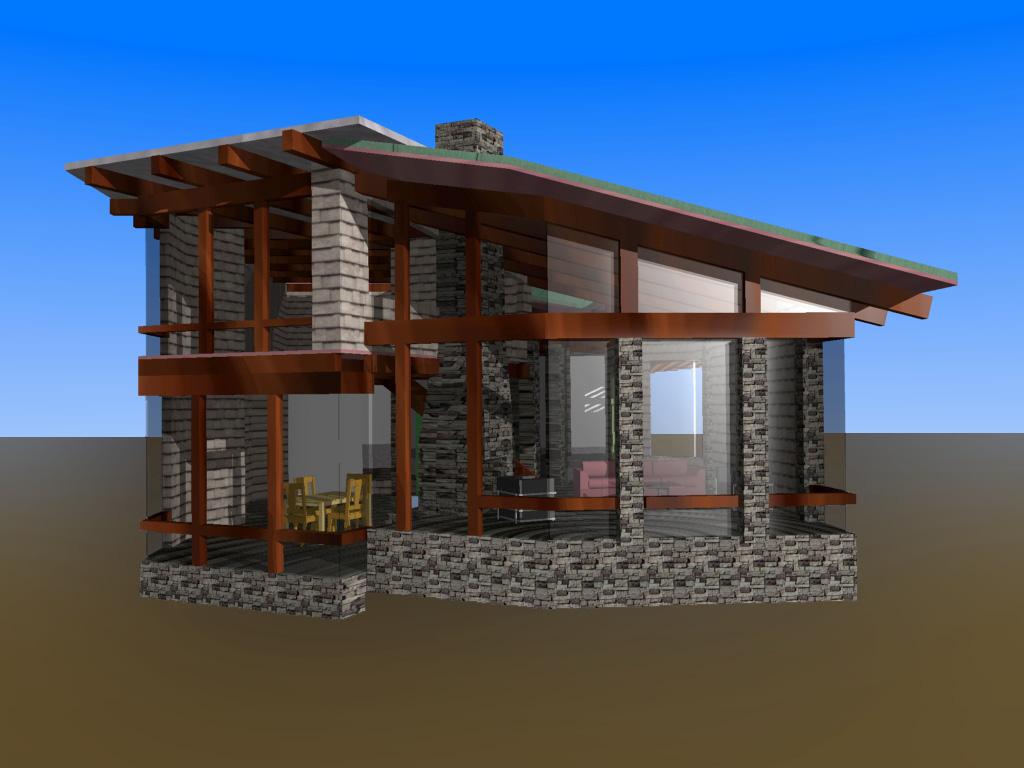 conception maison 3d l 39 habis. Black Bedroom Furniture Sets. Home Design Ideas