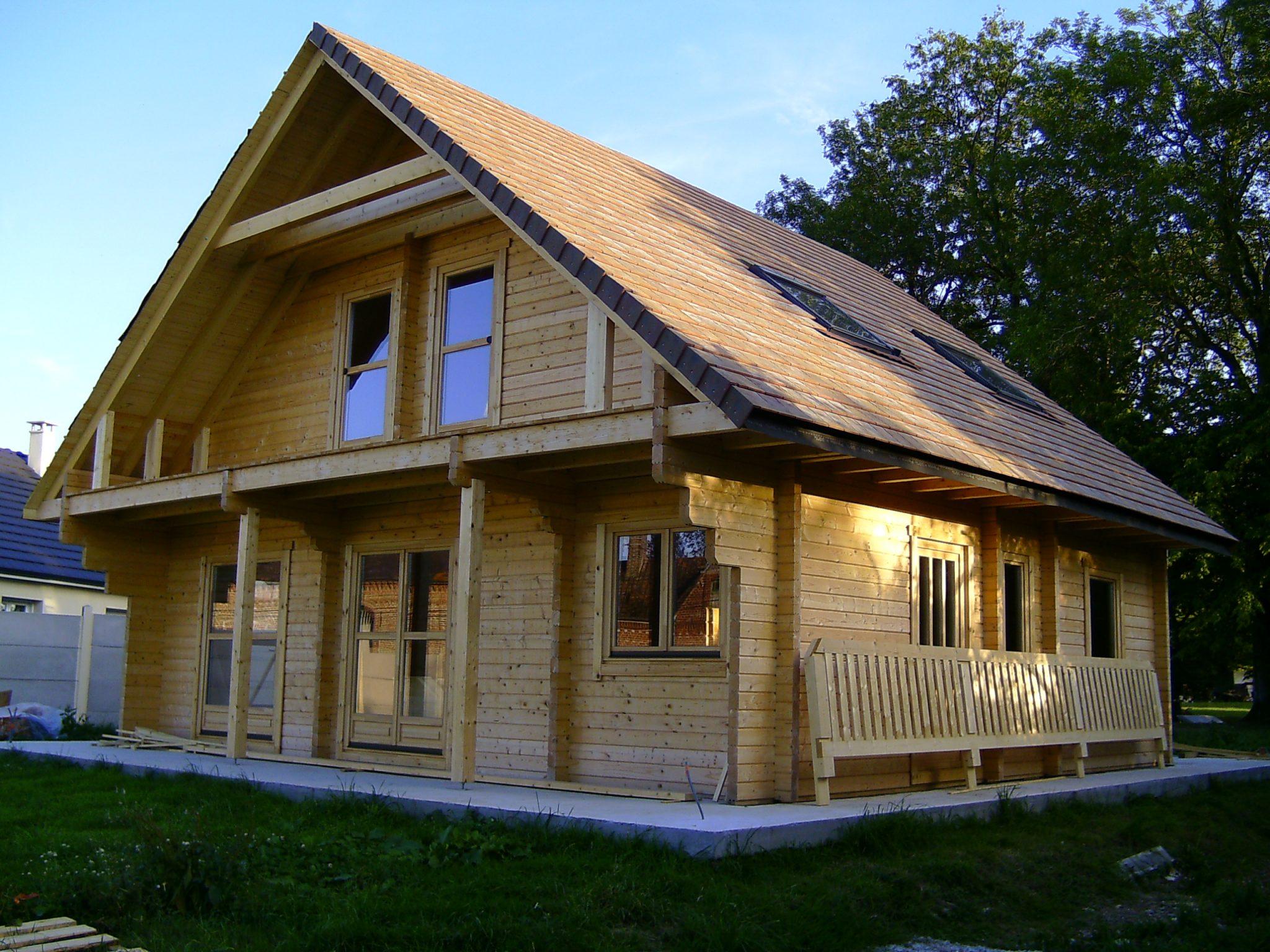 achat maison en bois en kit l 39 habis