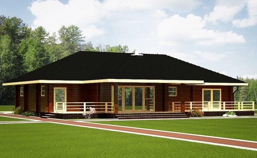 achat bungalow bois l 39 habis. Black Bedroom Furniture Sets. Home Design Ideas