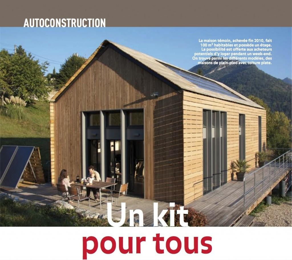 Petite maison bois en kit l 39 habis - Petite maison en bois ...